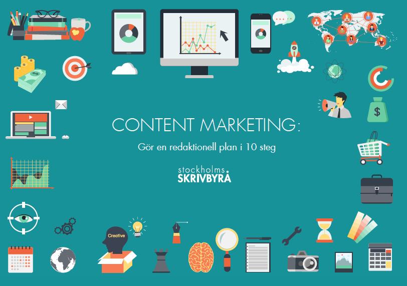 Content marketing - redaktionell plan