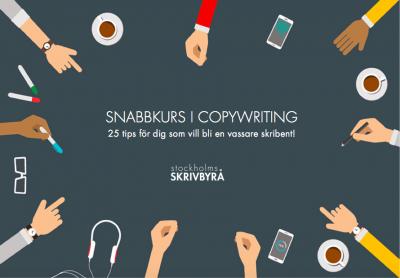 snabbkurs i copywriting