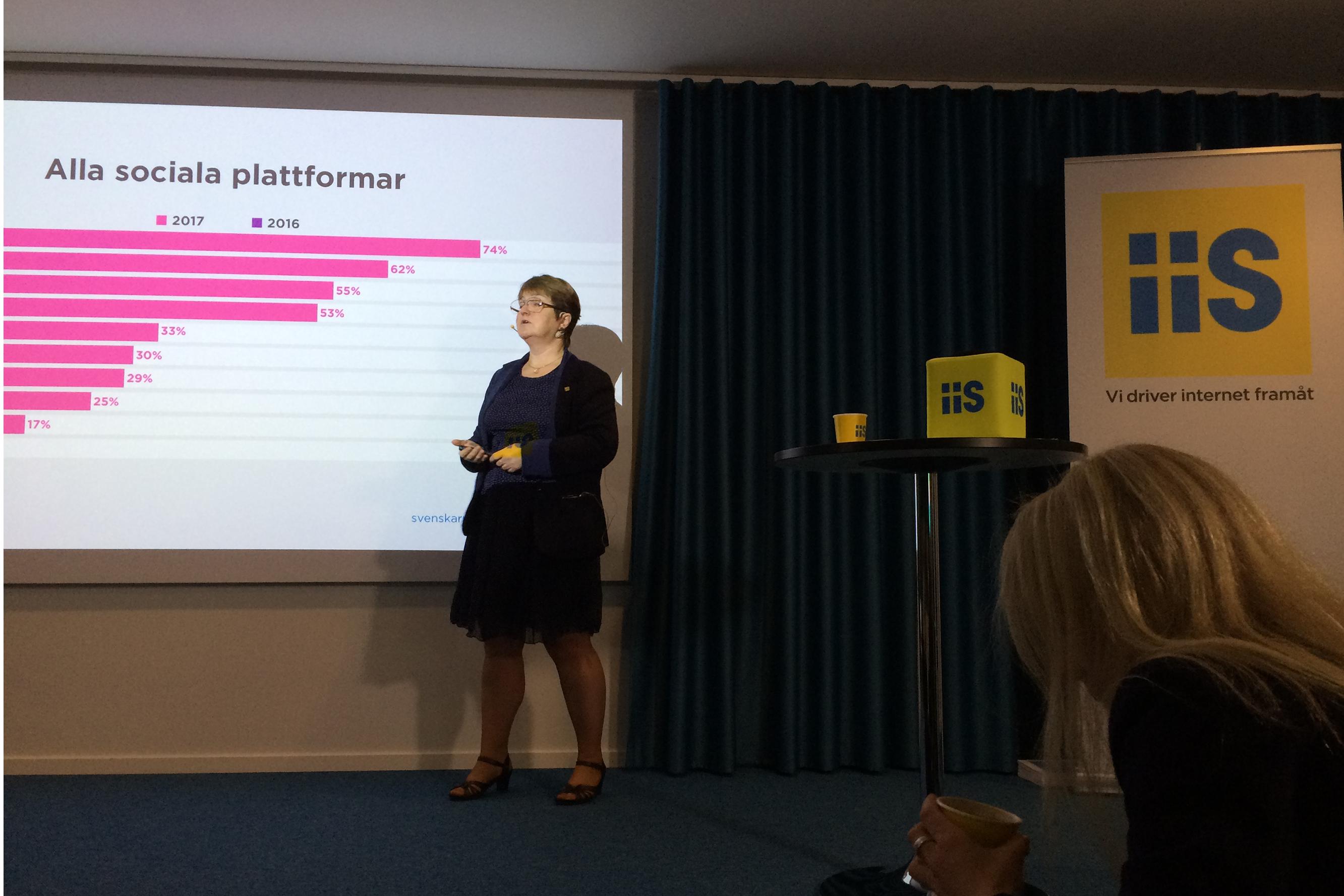 Sammanfattning av rapporten Svenskarna och internet 2017
