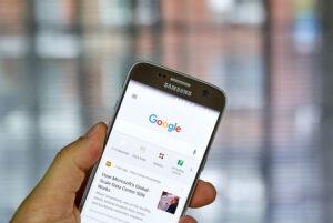seo-skribenten skriver texter för Google