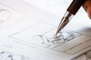 storyboard är ett sätt att planera för ett videomanus